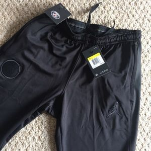 Nike x Jordan PSG soccer pants blackout shorts